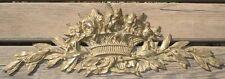 Importante Corniche Louis XVI en Bronze Antique Cornice Architectural Ancien