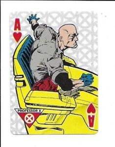 Xavier Institute for Higher Learning, Marvel Playing cards, Professor X