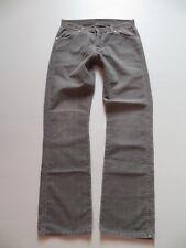 Wrangler Cord Jeans Hose W 32 /L 34, grau, grey colored Herren Cordhose ! Gr. 46