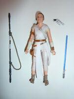 "Rey Star Wars The Black Series action figure toy 6"" lightsaber Rise of Skywalker"