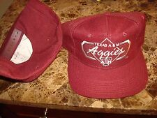 TEXAS A&M AGGIES BARS TOW YA JOHNNY  90'S  HAT CAP VINTAGE SNAPBACK