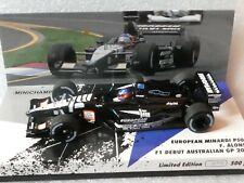 Minichamps 1:43 Fernando Alonso Minardi PS01 F1 Debut Australian GP 2001 500 pcs