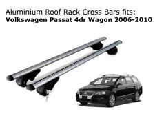 Aluminium Roof Rack Cross Bars fits Volkswagen Passat Wagon 2006-2010