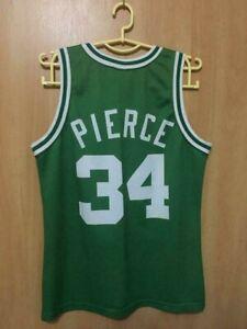 NBA BOSTON CELTICS BASKETBALL SHIRT JERSEY CHAMPION PAUL PIERCE #34