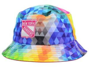 NEW YORK RANGERS - NHL New Era Youth Gem Multi-Color Bucket Hat