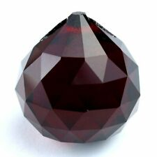 Hongville 30mm Red Crystal Ball Prisms #1701-30
