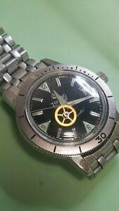Zodiac watch cannon pinion tightening (Sea Wolf, GMT etc). Service.