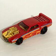 Hot Wheels Red RIVITED Car Vehicle Mattel Flames Thailand