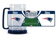 New England Patriots 16 Oz Freezer Mug  (NEW) Cup CDG Ice NFL