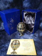 ATLAS EDITIONS FABERGE EGG - IMPERIAL COLLECTABLE TRINKET BOX