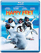 Happy Feet [Blu-ray] [2006] [Region Free]      Brand new and sealed