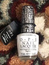 Opi Nail Polish Color White Shatter Topper Design Bn Nl E54
