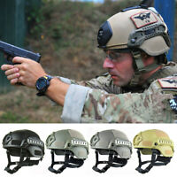 Tactical Helmet Army Military Cap Airsoft Action Helmets Hunting Gear Protective