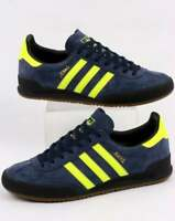 adidas Originals Adidas Jeans MK1 Trainers in Navy & Solar Yellow