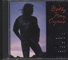 Billy Ray Cyrus - It Won't Be the Last CD vgc