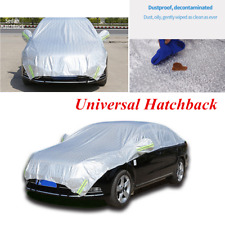 1x Universal Hatchback Car Cover Fitted Outdoor Water Proof  Rain Snow Sun Dust
