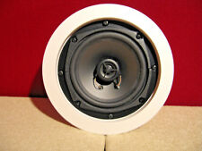 "RBH Sound Laboratories 5 1/4"" 2-Way A-505R 8 ohm in ceiling Speakers ""NEW PAIR"""