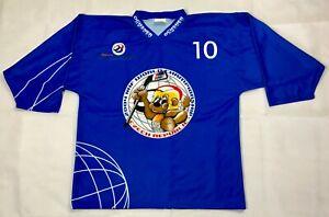 2004 IIHF World Championship Czech Republic Ochsner Hockey Jersey Men's Size XL
