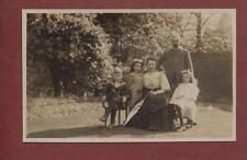 'Lewis' family.  Fir Royd. Ilkley, Yorkshire    qp1374