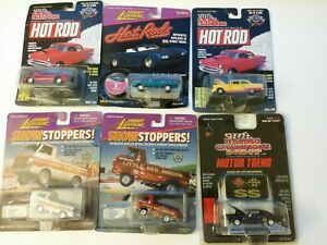 Lot Of 6 Die Cast Cars Johnny Lightning Show Stoppers And Racing Champions...
