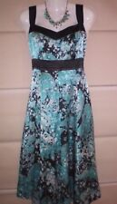 Stunning Brown Sugar Silk Dress Size 10 Fully Lined