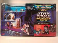 Micro Machines Star Wars Transforming Action Set: Darth Vader/Bespin