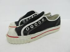 Vintage Retro Converse in Black Canvas 60s/70s Kids' Size: 13