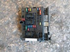 PEUGEOT PARTNER CITROEN BERLINGO 9643538180 ENGINE BAY SIEMENS BSI UNIT FUSE BOX