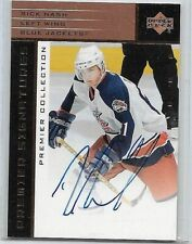 RICK NASH 2003 UD PREMIER SIGNATURE COLLECTION CERTIFIED AUTOGRAPH ROOKIE