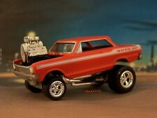 MOUNTAIN MOTOR 1963 63 CHEVY NOVA COLLECTIBLE REPLICA 1/64 SCALE DIORAMA MODEL