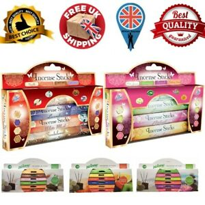 4 IN 1 Pack Best Deluxe Incense Stick Beautiful Gift Set By Pan Aroma  NEW UK
