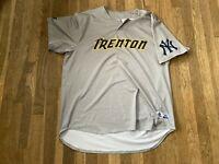 Tim Norton Game Used Trenton Thunder Road Gray Jersey Yankees