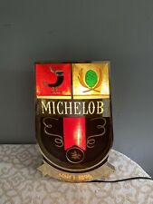"""1960s Michelob Lighted Beer Sign 17""""x 10""""x 5"""""""