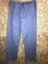 FASHION SEAL scrubs pants medical dental drawstring S ceil blue 1 pocket unisex