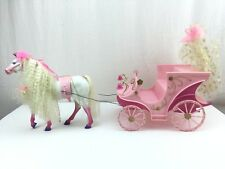 Sindy Doll Fairy Carriage Vintage Hasbro in Box 1993 with Horse Free UK Post VGC