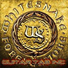 Whitesnake Guitar & Bass Tab FOREVERMORE Lessons on Disc Tablature Doug Aldrich