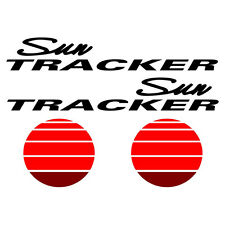 Sun tracker Pontoon Marine Vinyl suntracker boat decals - 44 x 13 inches TALL