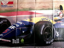 Poster 70X55 - WILLIAMS F14 RENAULT MANSELL [AS3] -71