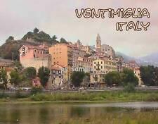 Italy - Ventimiglia - Travel Souvenir Fridge Magnet
