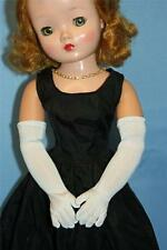 "For CISSY: LONG White Over the Elbow GLOVES - 20"" Vintage Fashion Doll"