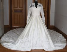 Made to Measure for All Sizes - The Kate's Inspired Lace Overlay Wedding Gown