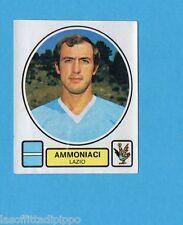 PANINI CALCIATORI 1977/78 - Figurina n.163- AMMONIACI - LAZIO -Rec