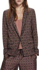 BNWT Maison Scotch & Soda Pyjama printed Blazer Jacket XS RPP £120