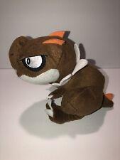 "Tomy Pokemon XY Tyrunt Brown Dinosaur Plush Stuffed Animal Toy 7"""