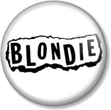 BLONDIE LOGO 5 25mm Pin Button Badge Logo Punk Rock Pop Band Atomic Debbie Harry