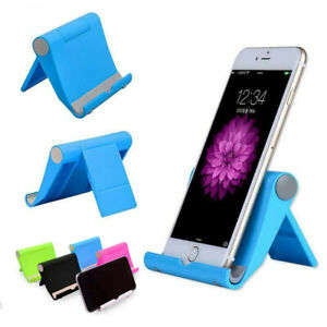 Foldable Cell Phone Stand Desk Holder Mount Dock Cradle for Samsung iPhone iPad