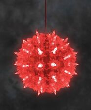 Konstsmide LED Lichterball Lichterkugel Leuchtball Kugel Funkel Deko Ball rot