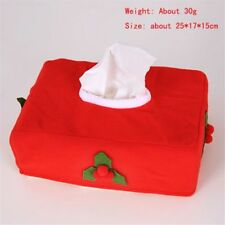 Christmas Tissue Box Case Holder Paper Towels Table Home Party Decoration Supply