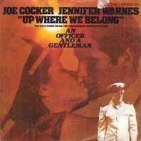 """Joe Cocker, Jennifer Warnes - Up Where We Belong (7 7"""" Vinyl Schallplatte - 187"""