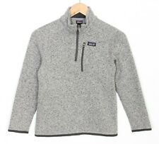 PATAGONIA Better Sweater Zip Neck Fleece Jacket Youth Kid's Size M / 10 MJ1848